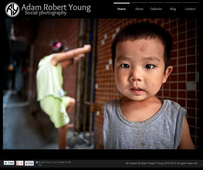 Home page for Adam Robert Young