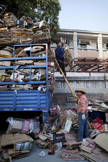 Recyclers in Guangzhou by Adam Robert Young