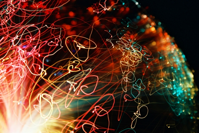 80's lamp abstract photography by Adam Robert Young
