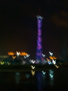 Canton tower night lights - Adam Robert Young