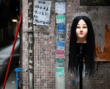 Scene from one of Guangzhou's urban villages by Adam Robert Young