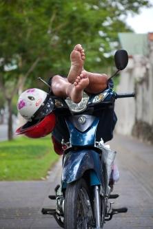 Xe Om in Saigon photograph by Adam Robert Young