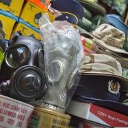 Gas masks in Dan Sinh market by Adam Robert Young