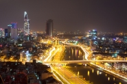Adam Robert Young Saigon Cityscape Photograph