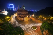 Adam Robert Young - Notre Dame Cathedral, Saigon, Vietnam. A long exposure photograph.