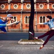 Ballet dancers in Saigon