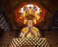 Ten Thousand Buddha Pagoda Ho Chi Minh City by Adam Robert Young
