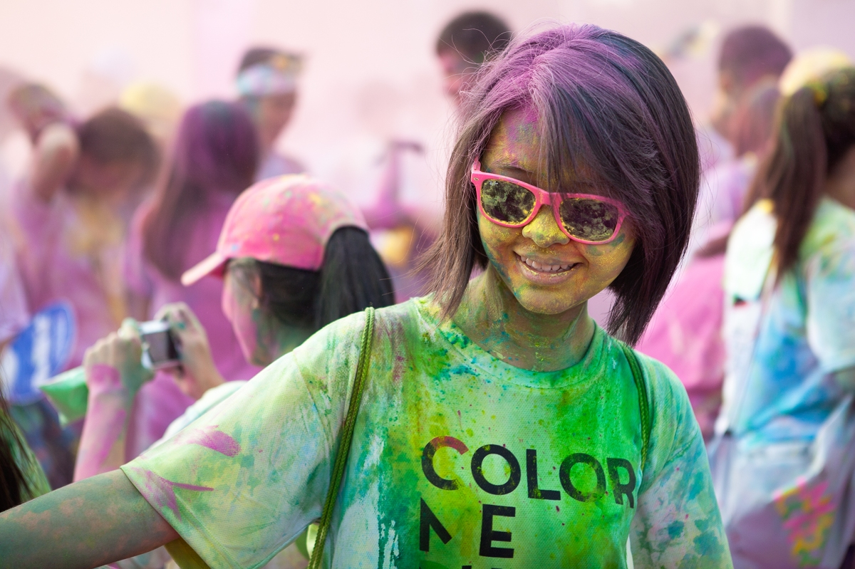 Color Me Run - Ho Chi Minh City, 2014.