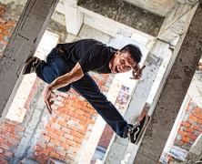 Parkour in Saigon Vietnam Ho Chi MInh City AO Show