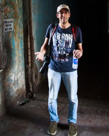 Adam Robert Young leads a Moto Foto tour in Ho Chi Minh City
